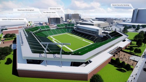 Birmingham, Alabama, BJCC, stadium
