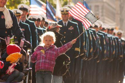 Veterans Day Parade.