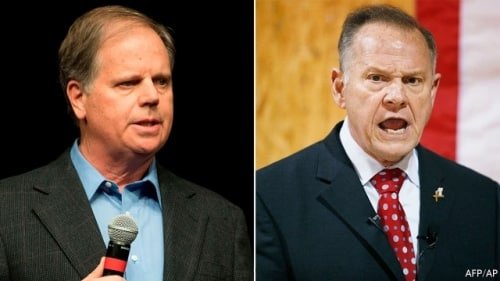Doug Jones,Roy Moore, Senate, election, Birmingham, Alabama