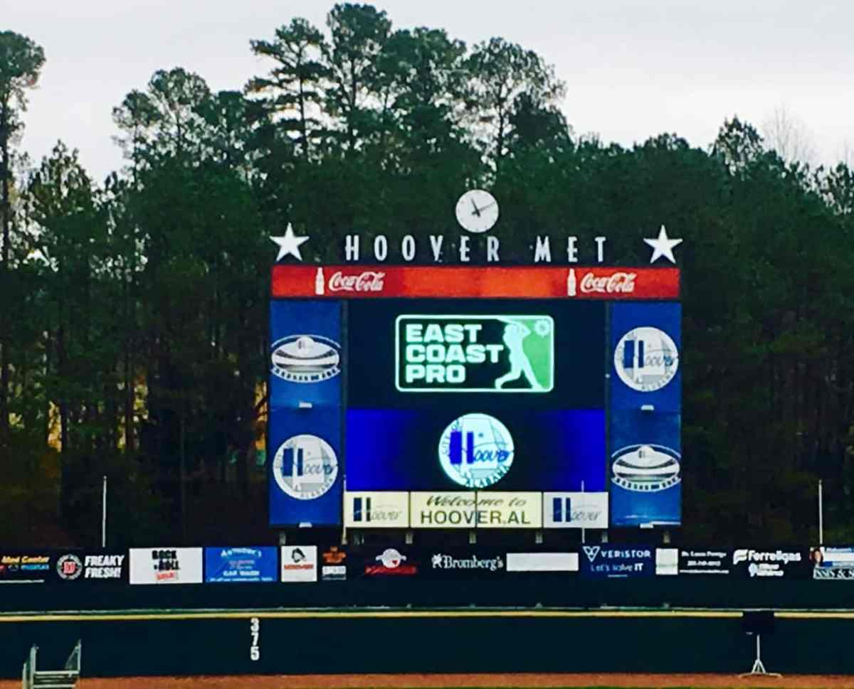 Looking for the next Mike Trout. Major League Baseball's premier scouting event is coming to Hoover