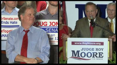 Birmingham, Alabama, Roy Moore, Doug Jones, Senate, Election
