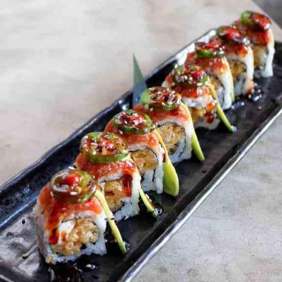 Birmingham, Bamboo on 2nd, Magic City Roll, sushi, Birmingham restaurants, asian-inspired restaurants, pan-asian restaurants, Valentine's Day