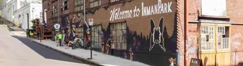 Atlanta, Georgia, Inman Park, Mural
