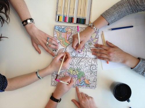 Birmingham, color, coloring, art, adult coloring