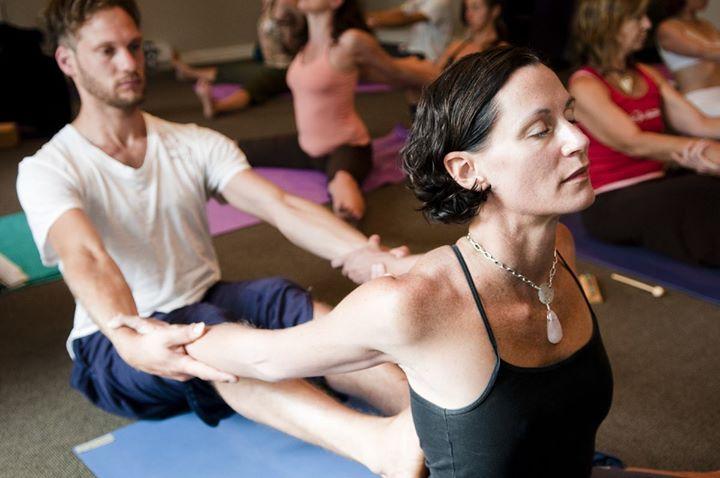Valentine S Day Partner Yoga Hot Stones Class Bham Now