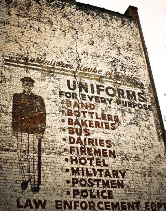 Instagram spotlight on beautiful Birmingham Ghost Signs.