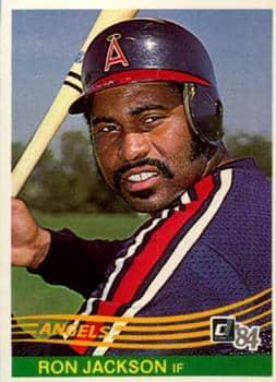 baseball player Ron Jackson