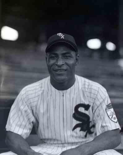 baseball player Sam Hairston