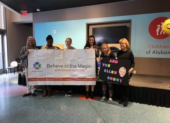 Birmingham, Mary White, The Awesome Mary Show, Children's Hospital, Ellen DeGeneres, The Ellen DeGeneres Show