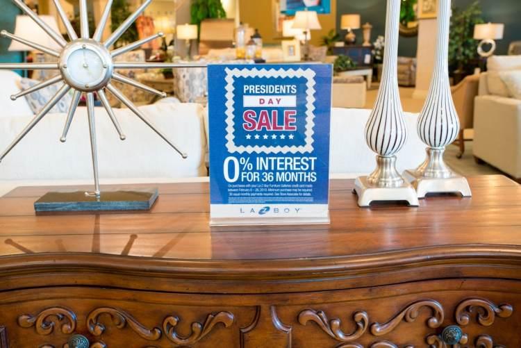 Birmingham, La-Z-Boy, La-Z-Boy Furniture Galleries, President's Sale