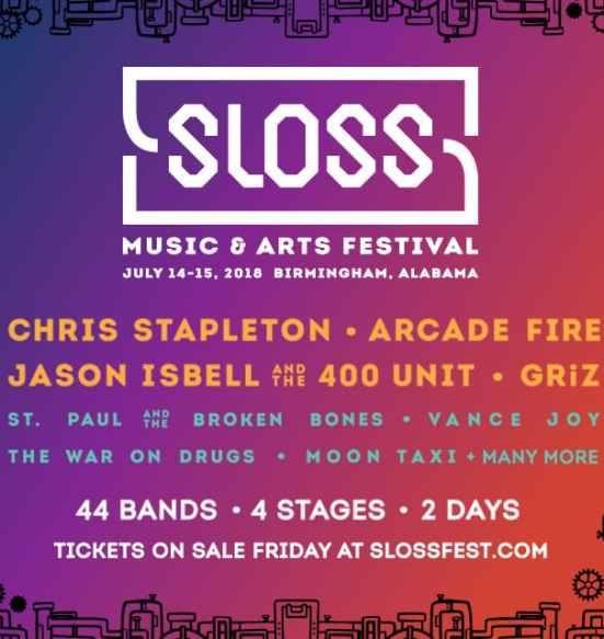 Birminhgam, Sloss Fest, Sloss Fest 2018, Sloss Music and Arts Festival, music, art
