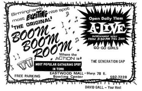Birmingham, Boom-Boom Room