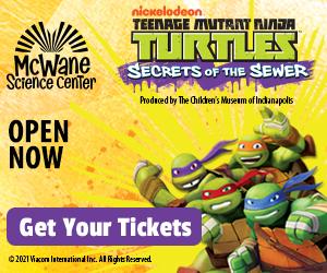 Teenage Mutant Ninja Turtles at McWane Science Center