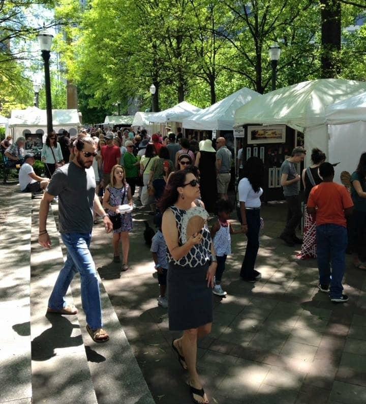 Birmingham, Magic City Art Connection, MCAC, Linn Park, art, festivals, artists