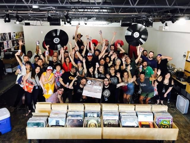 Join vinyl enthusiasts at Birmingham's Record Store Crawl on Saturday, May 19