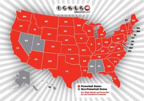 Birmingham, Alabama, Lottery, Powerball