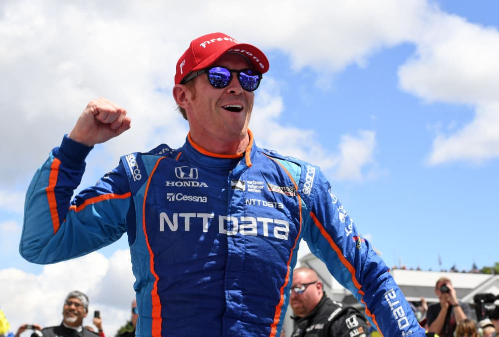IndyCar champ Scott Dixon Interview & Porsche driving at Barber's Media Days