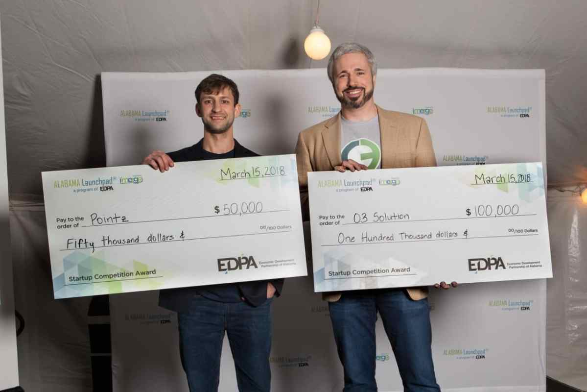 Two Birmingham startups win big at Alabama Launchpad competition