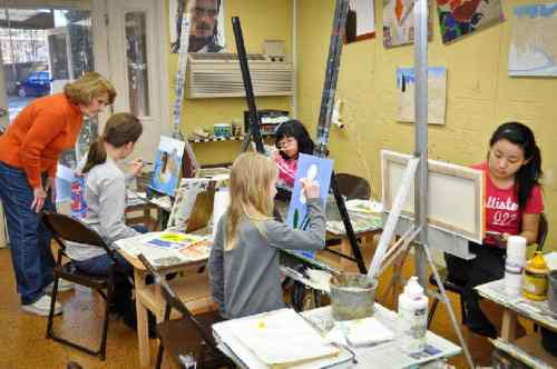 Birmingham, Lindart's Studio and Gallery, art classes, art programs, painting, painting classes, adult painting classes, teen painting classes