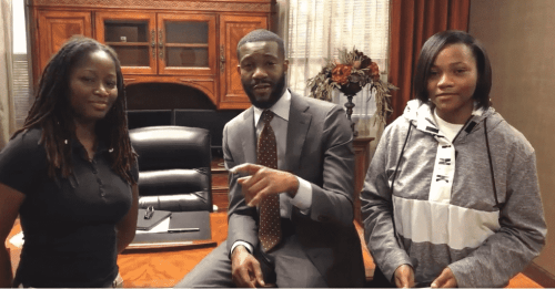 Birmingham, Alabama, Mayor Woodfin, Ramsay, Ta'Kaiya Cooper, Ashleigh Richardson