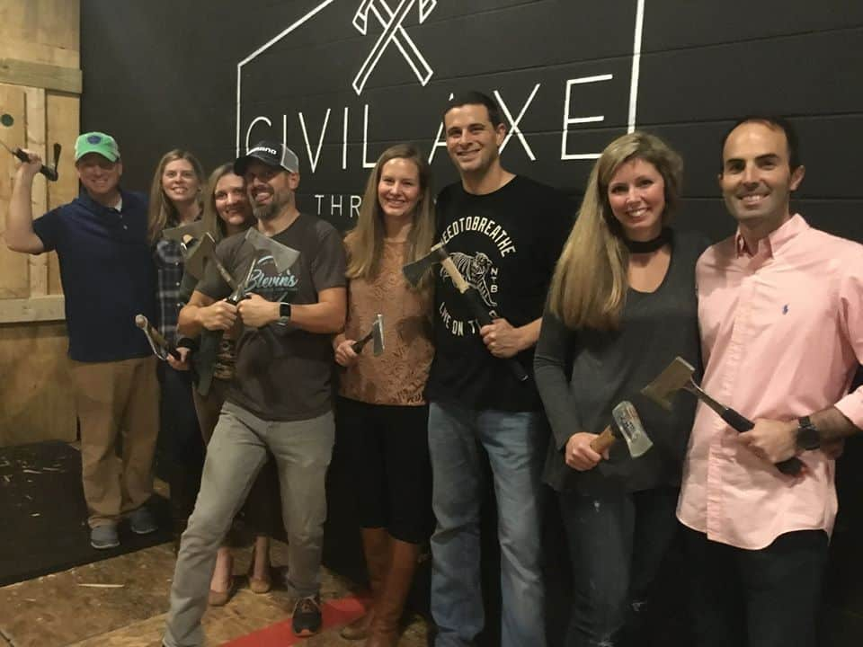 Axe throwing? Yep, it's a trend. Check out Civil Axe Throwing coming to Birmingham in June
