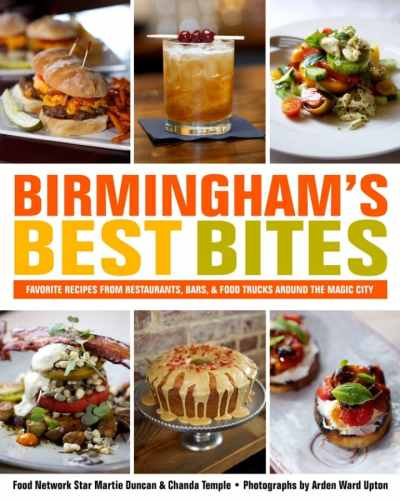 Birmingham, Martie Duncan, Chanda Temple, Birmingham's Best Bites, Southern cookbooks, cookbooks, Books-A-Million