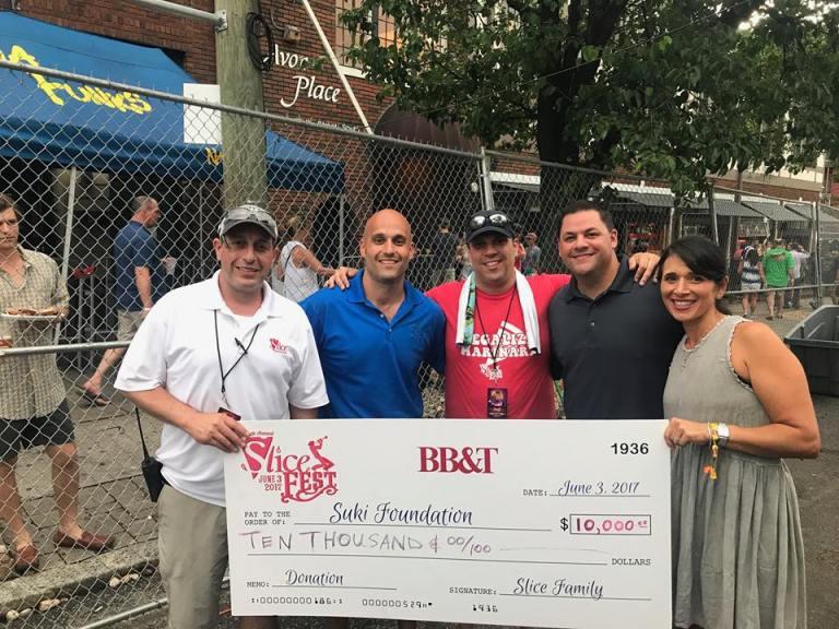 Birmingham, Alabama, SliceFest 2018 promo, SUKI Foundation, Rett Syndrome