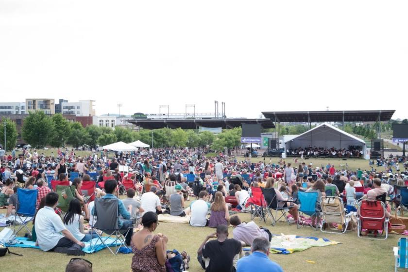 Birmingham, Symphony in the Summer