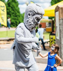 Birmingham, Alabama, Vulcan Park and Museum, Vulcan's 114th Birthday Bash, V-Mascot