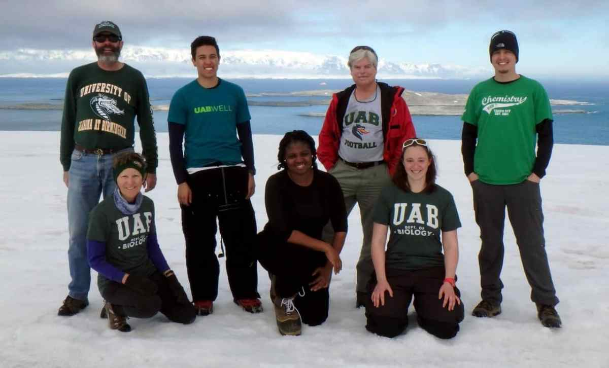 UAB professor and explorer James McClintock recognized globally for efforts in Antarctica