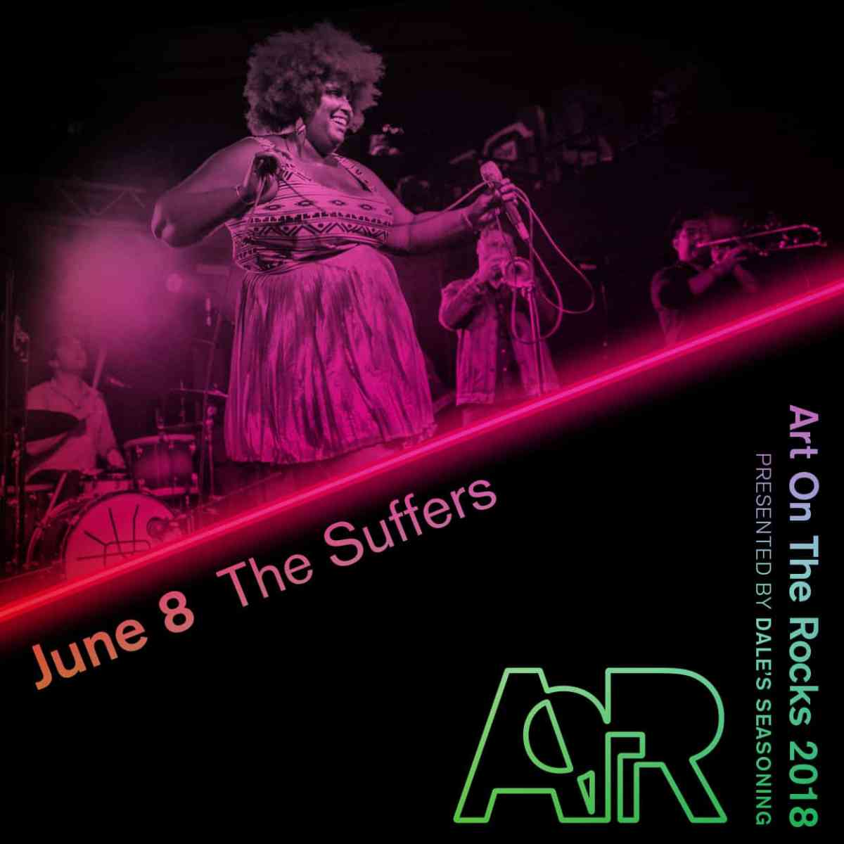 Art On The Rocks // The Suffers