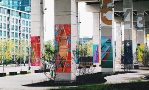 Birmingham, Alabama, Bentway, linear park, skate