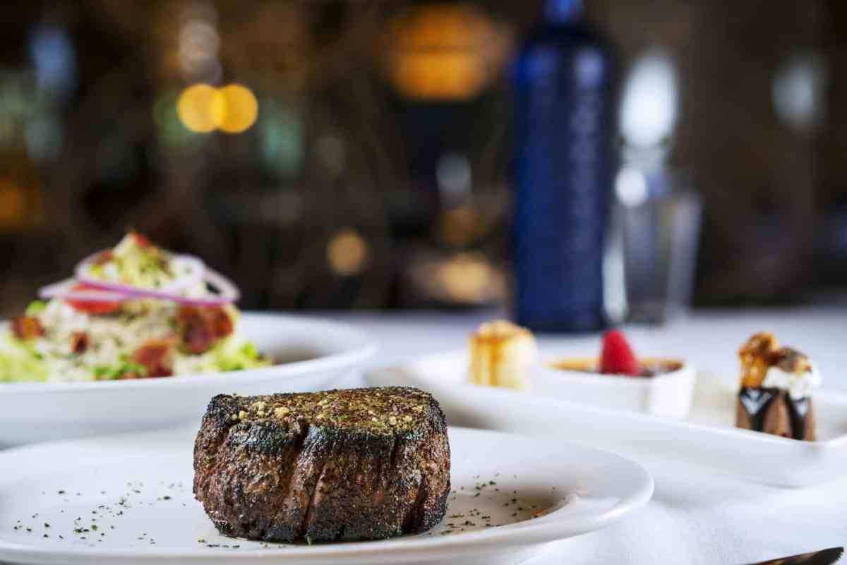 Take date night to a whole new level with a 4-course anniversary special at Perry's Steakhouse & Grille