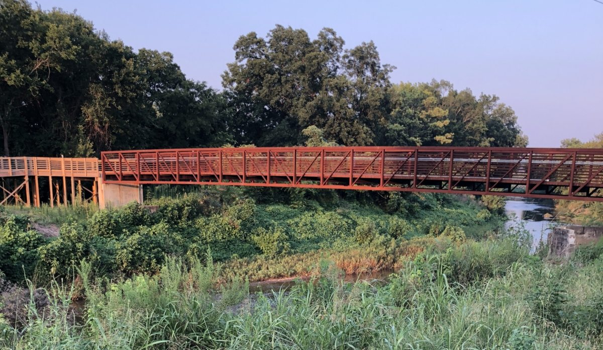 Ensley Greenway completes phase one of Village Creek Trail