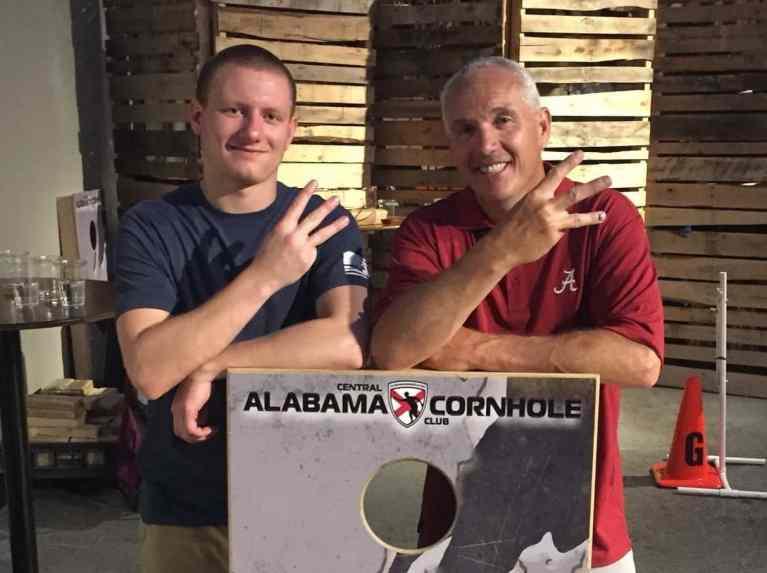 Birmingham, cornhole, Cahaba Brewing Co., Cahaba Brewery, Central Alabama Cornhole Club, CACC