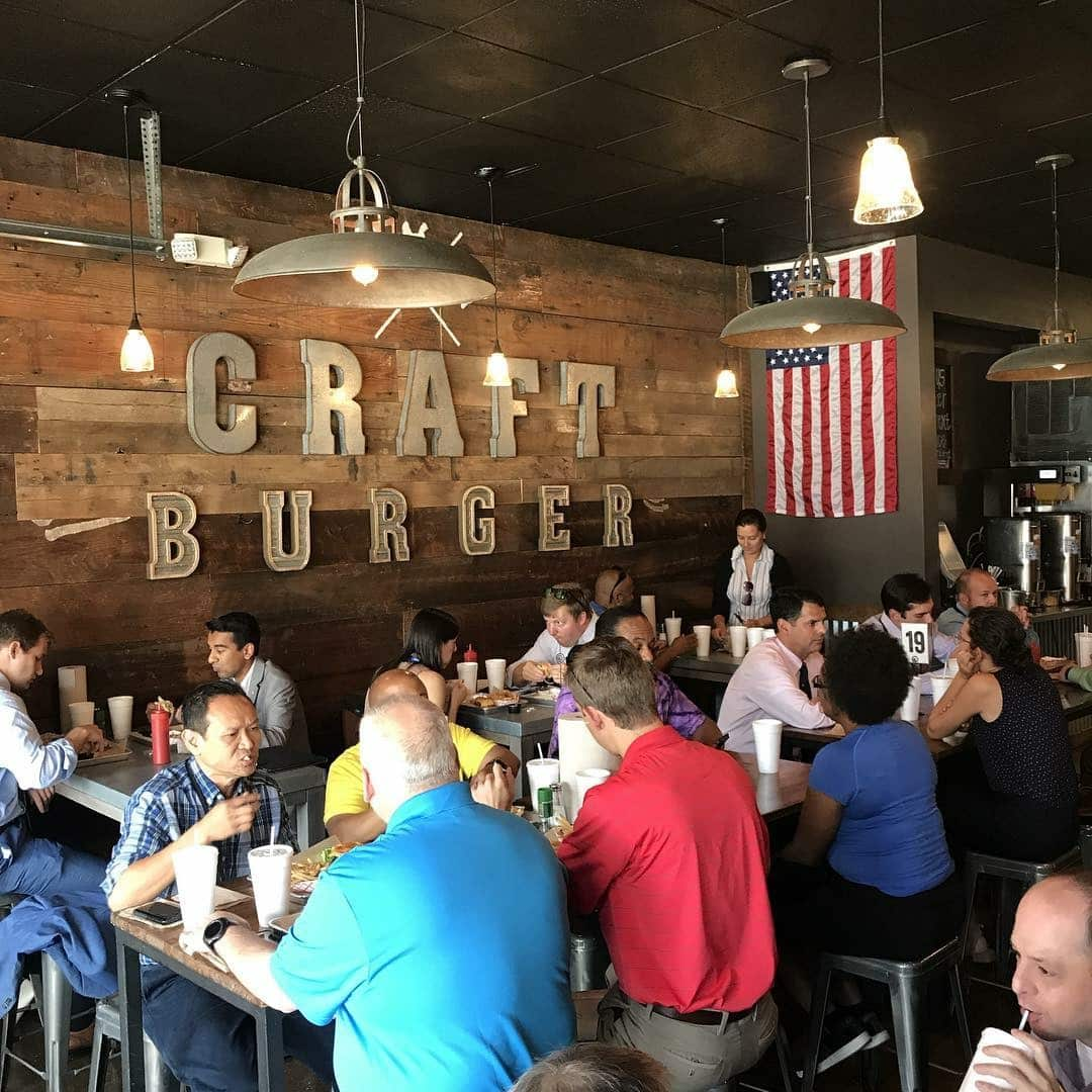 The Craft Burger serves up delicious food in downtown Birmingham at 321 20th St. N.