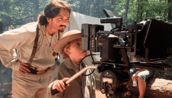 Filming for western movie 'Hell on The Border' shot in Bessemer