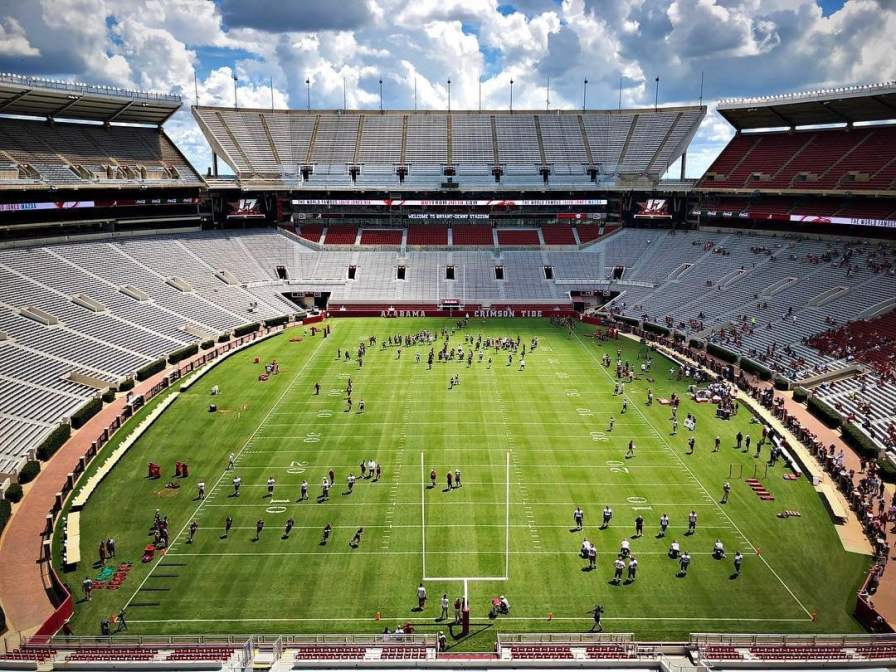 Birmingham, Alabama, Bryant-Denny Stadium, football