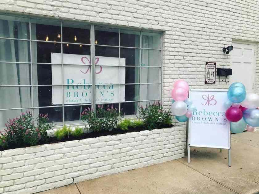 Birmingham, Trussville, Trussville revitalization, Rebecca Brown's A Baby and Children's Boutique