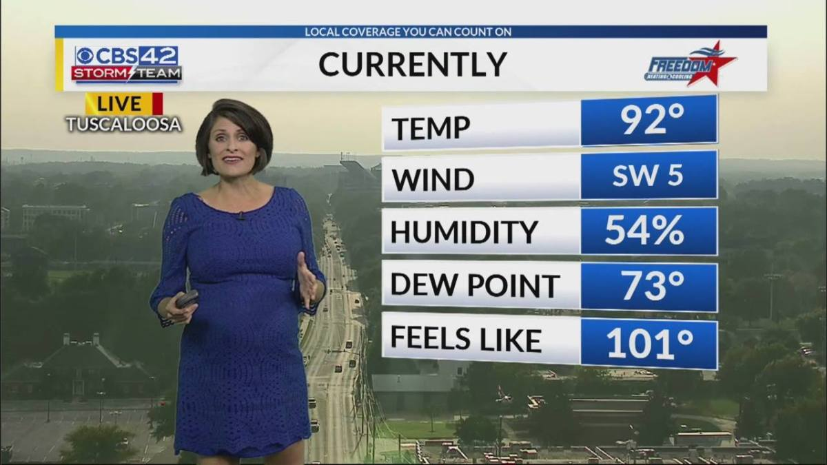 Birmingham has experienced 12 straight days of 90 plus temperatures. We ask WIAT CBS 42's Ashley Gann about the present heat wave.