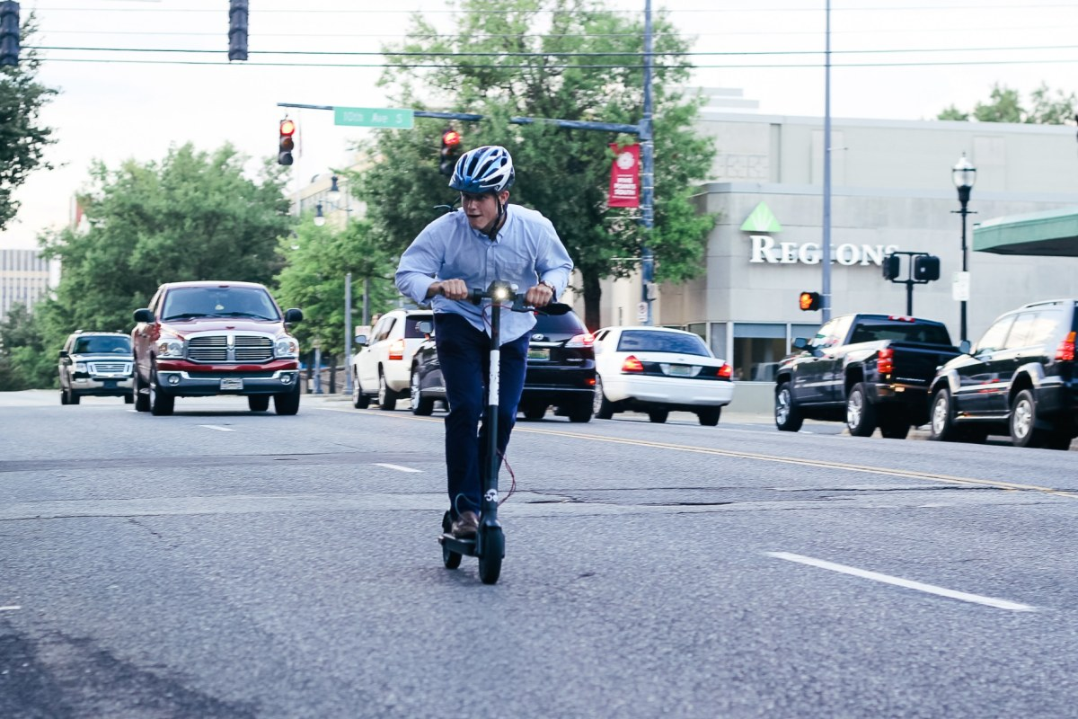 As Birmingham and Homewood kick electric scooters to the curb, Bird introduces 4 tech products to   'help local governments incorporate and manage e-scooters'