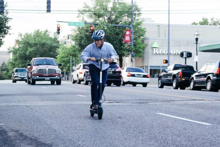 Birmingham, Alabama, Shared Economy, Bird, electric scooter