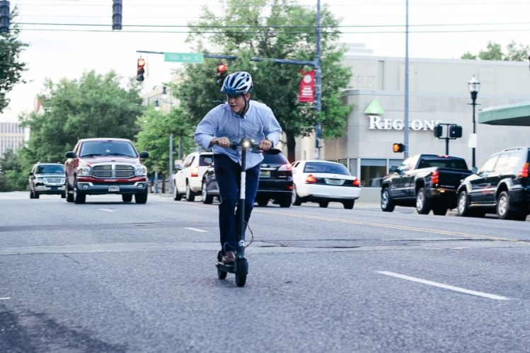 Birmingham, Alabama, Shared Economy, Bird, electric scooter