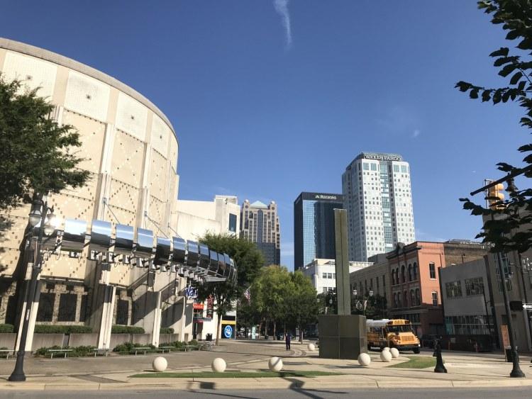 Birmingham, Alabama, McWane Science Center, downtown