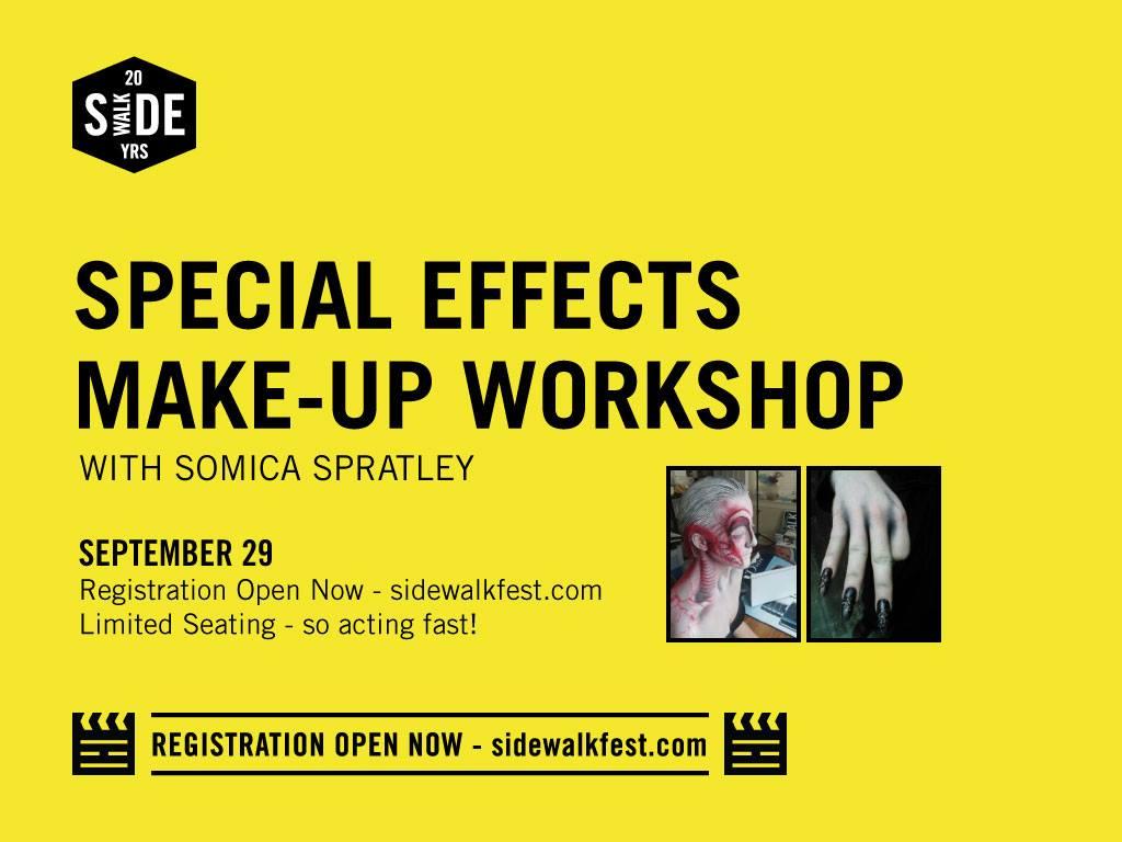 Special Effects Makeup Workshop
