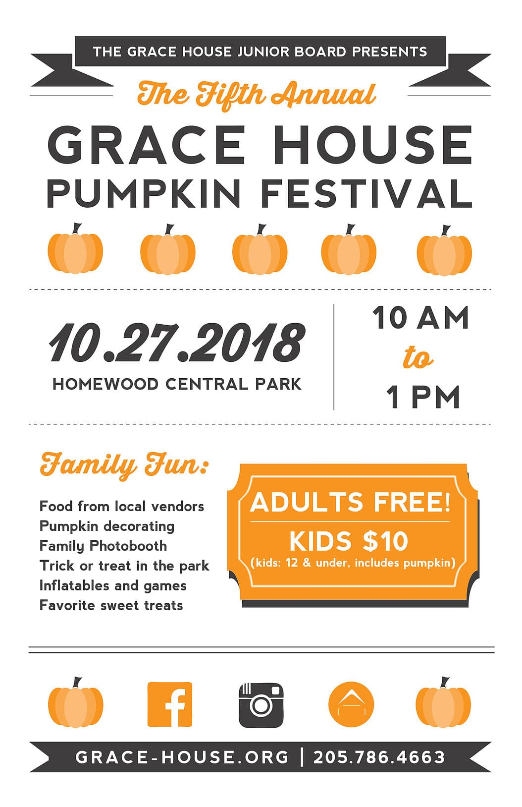 Grace House Pumpkin Festival