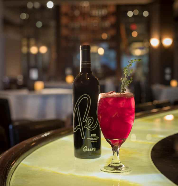 Birmingham, Alabama, Perry's Steakhouse & Grille, Holiday Wine Thyme