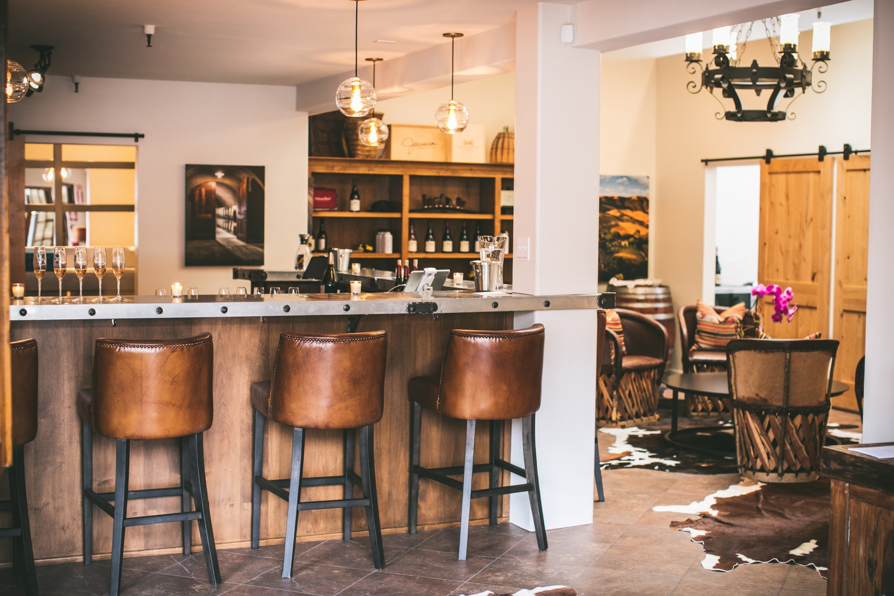 Merveilleux The Winery Is Owned And Operated By Birmingham Based Clients Of Humphries.  Photo Via Suzanne Humphries Design