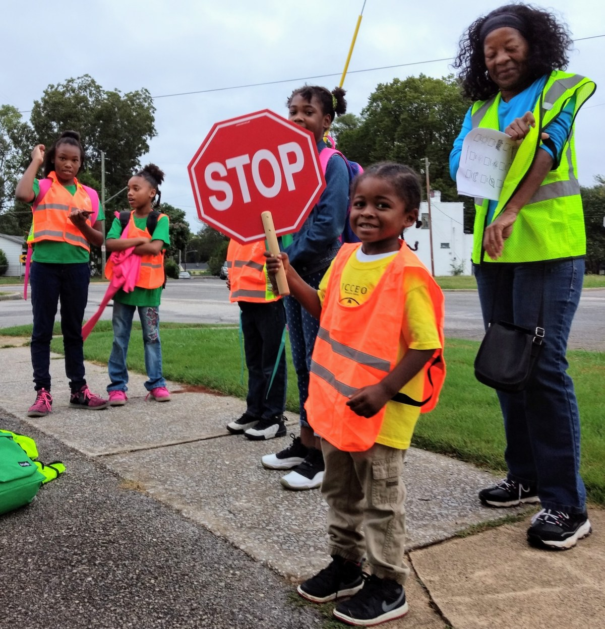 3 things we learned from the Booker T. Washington Elementary school students who participated in Walk to School Day in Birmingham