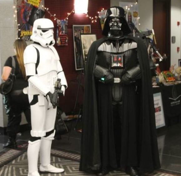 Birmingham, Birmingham Public Library, Halloween, costumes, Star Wars, Darth Vader, Storm Trooper
